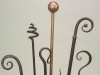 A fine selection of curtain rail finials - all sizes, styles and finishes available